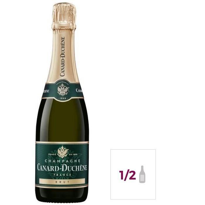 Champagne Canard Duchêne Authentic Brut - 37,5 cl