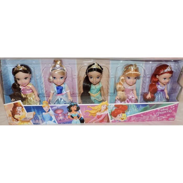 Neuf 2017-2018 Disney Princess Petite princesse Lot de 5 édition limitée
