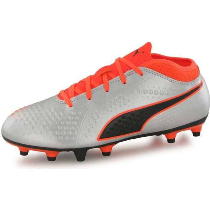 Chaussures Puma One 4 Syn Fg Gris Homme