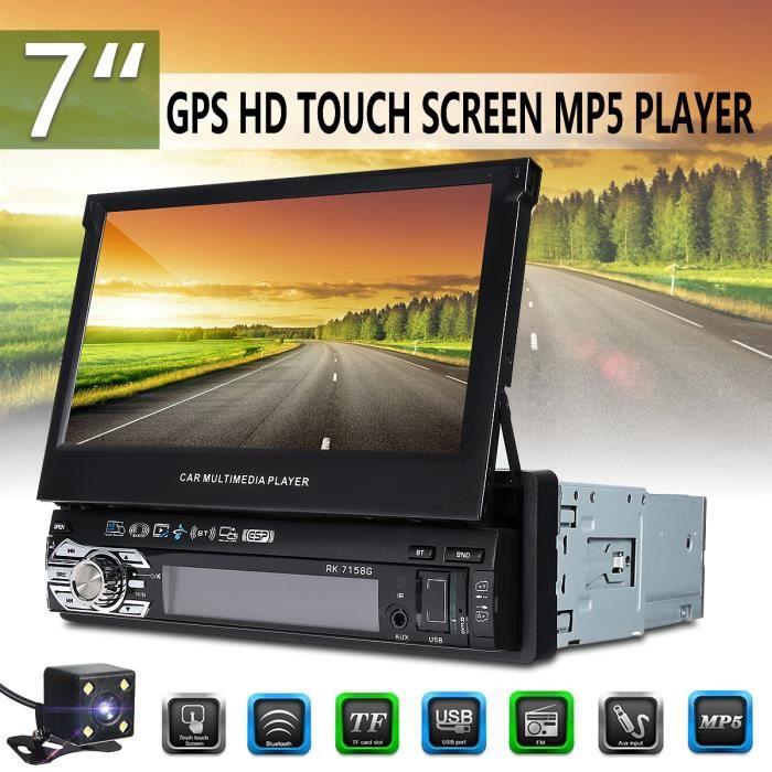 NEUFU 7'' 1 DIN Bluetooth Voiture Autoradio GPS Navigation Car Stereo