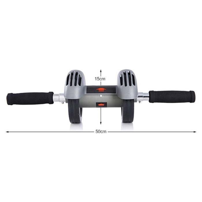 Roue abdominale à deux roues abdominales de la roue abdominale AAA Abdominal Fitness Equipment Home Fitness Equipment