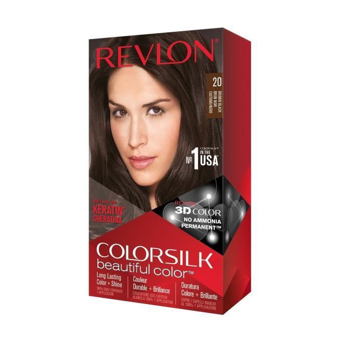 COLORSILK Coloration N°20 - Brun et noir - 59,1 ml