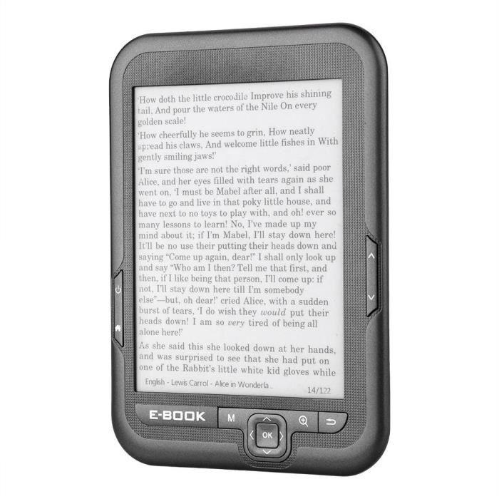 E book Reader Portable E paper Lecteur 6 Pouces Paperwhite Gris 16Go Gl