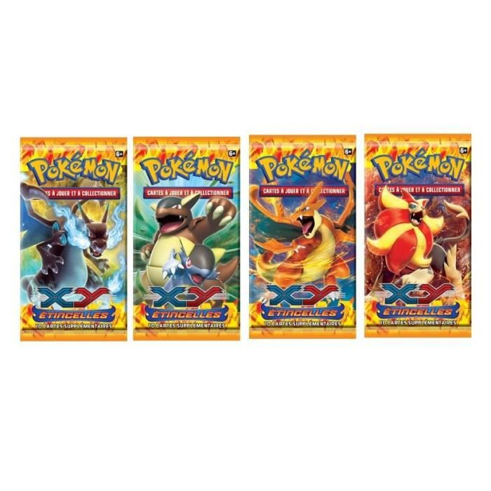 Pokemon xy 02 booster etincelles achat vente carte a collectionner black friday le 24 11 - Cart pokemon xy ...