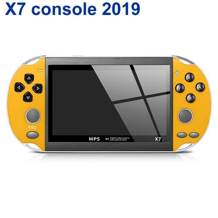 Console X7 console de jeux de poche console de jeux 4.3