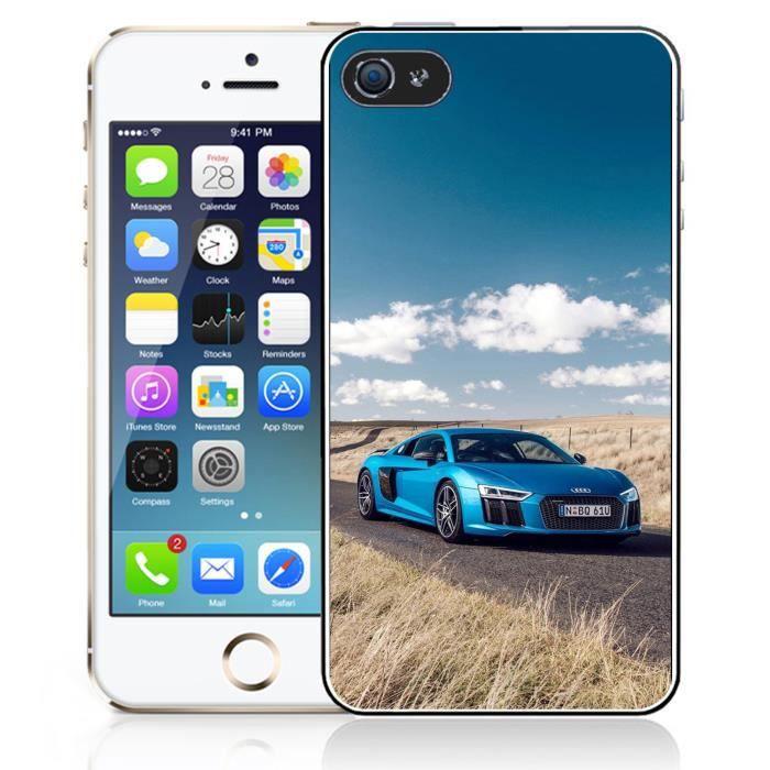 coque iphone 5 5s se audi r8 2017