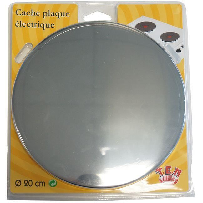 Cache Plaque Electrique D 20 Cm Inox
