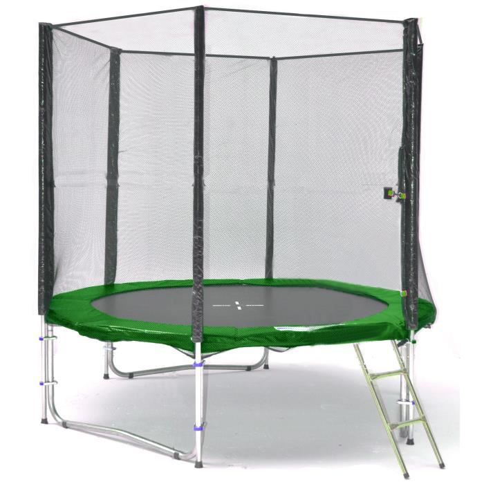 bl t245 ks08ga kid s ports trampoline de jardin 245cm achat vente trampoline cdiscount. Black Bedroom Furniture Sets. Home Design Ideas