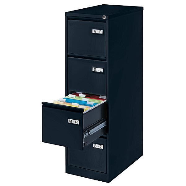 bisley classeur pour dossiers suspendus 1 rang e avec 4. Black Bedroom Furniture Sets. Home Design Ideas