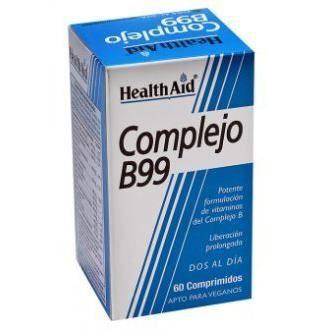 TONUS - VITALITÉ Mega 60Comp Complexe B99. Health Aid