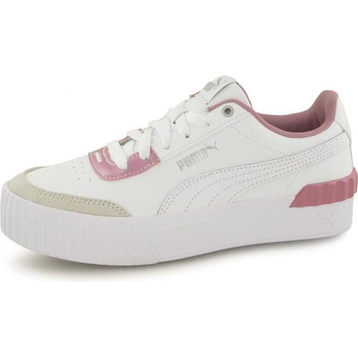 Baskets Puma Carina Lift Pearl blanc femme