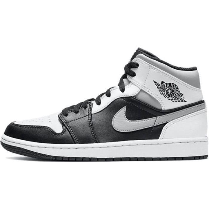 "Basket Air Jordan 1 Mid""White Shadow""Chaussure de Sport AJ 1 Pas ..."