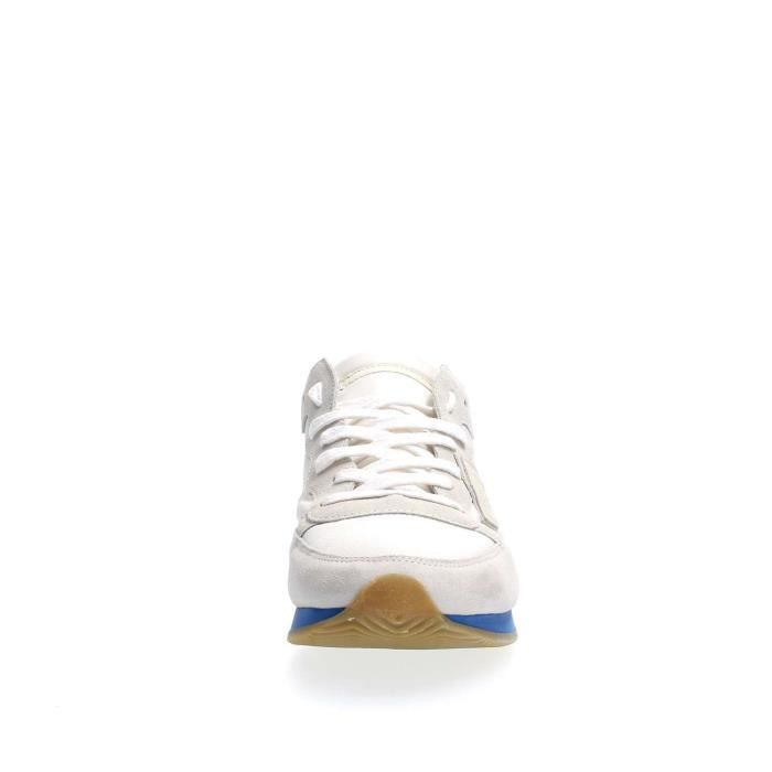 43 MODEL SNEAKERS PARIS Homme PHILIPPE WHITE wpUXqWA