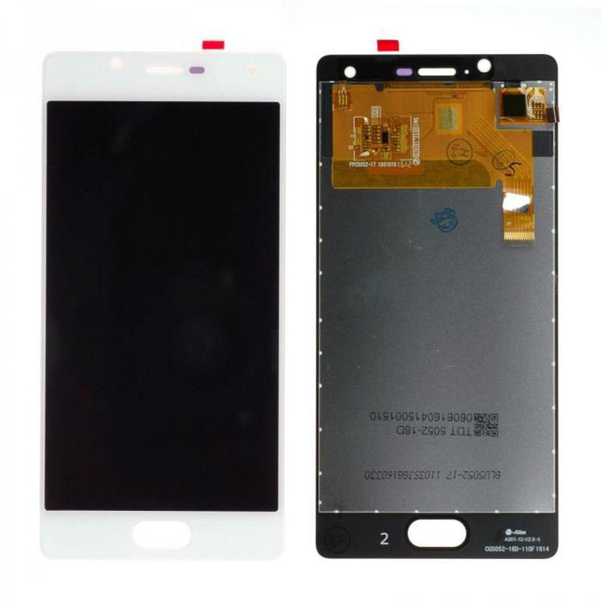 PIÈCE TÉLÉPHONE Ecran Complet LCD + Tactile pour WIKO U Feel Blanc