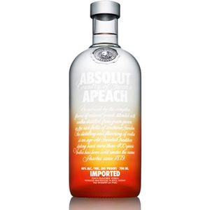 VODKA Absolut Apeach Peche 70cl