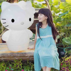 HELLO KITTY Lampe LED Décoration 80cm