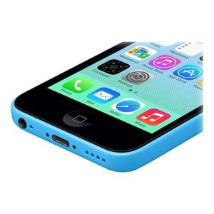 iphone 5c bleu reconditionne achat vente iphone 5c. Black Bedroom Furniture Sets. Home Design Ideas