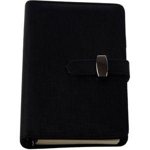 AGENDA - ORGANISEUR Agenda de poche elegant en cuir de noter des plann