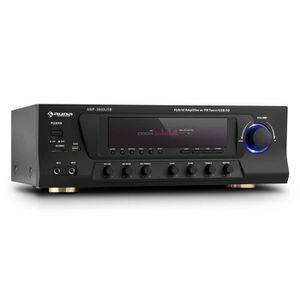 AMPLIFICATEUR HIFI auna AMP-3800 USB - Ampli surround 5.1 avec USB ,