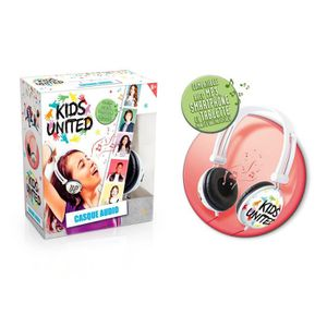 CASQUE AUDIO ENFANT CANAL TOYS - KIDS UNITED - Casque Audio Enfant