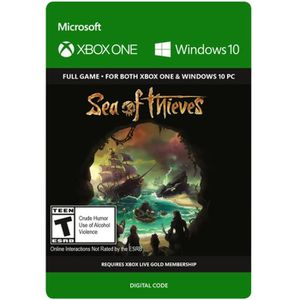 JEU XBOX ONE À TÉLÉCHARGER Sea of Thieves Jeu Xbox One à télécharger