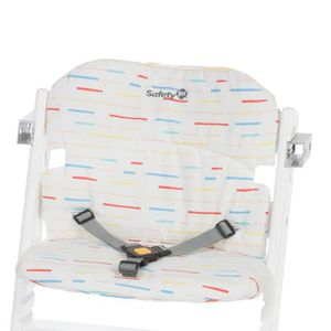 CHAISE HAUTE  Coussin confort Timba Red lines Multicolore,Blanc