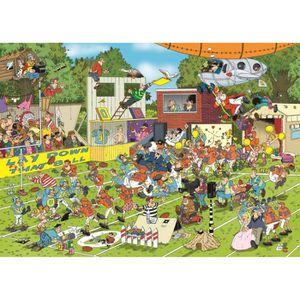 PUZZLE Puzzle 150 pièces Jan Van Haasteren - Chaos sur le