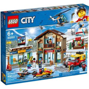ASSEMBLAGE CONSTRUCTION LEGO® City 60203 La station de ski