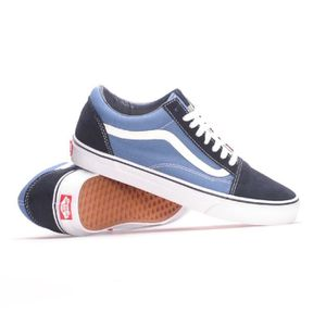 BASKET VANS VN-0D3HNVY hommes: Old Skool Skate Navy Sneak