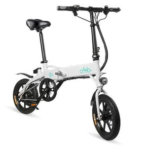 VÉLO PLIANT Vélo électrique pliant FIIDO D1 10.4Ah EU Blanc