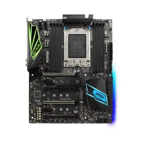 CARTE MÈRE MSI X399 SLI Plus AMD X399 ATX Carte mère - Cartes