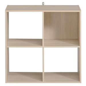 etagere 4 cases achat vente etagere 4 cases pas cher. Black Bedroom Furniture Sets. Home Design Ideas