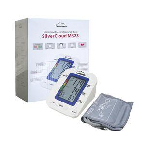 CARDIOFRÉQUENCEMÈTRE Tensiomètre à bras électronique SilverCloud MB23 a