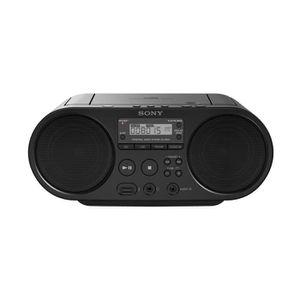 RADIO CD CASSETTE Sony ZSP-S50B Lecteur CD/MP3, USB, Radio - Noir