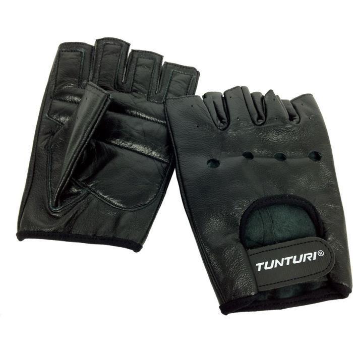 TUNTURI Gants musculation -Fit Sport- noir
