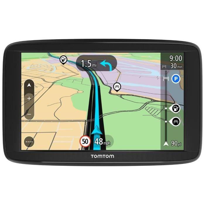 TOMTOM VIA 62 (6 Pouces) GPS Europe 48 Cartographie et Trafic à Vie