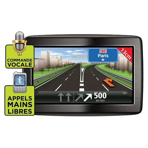 tomtom via 125 achat vente gps auto tomtom via 125 soldes cdiscount. Black Bedroom Furniture Sets. Home Design Ideas