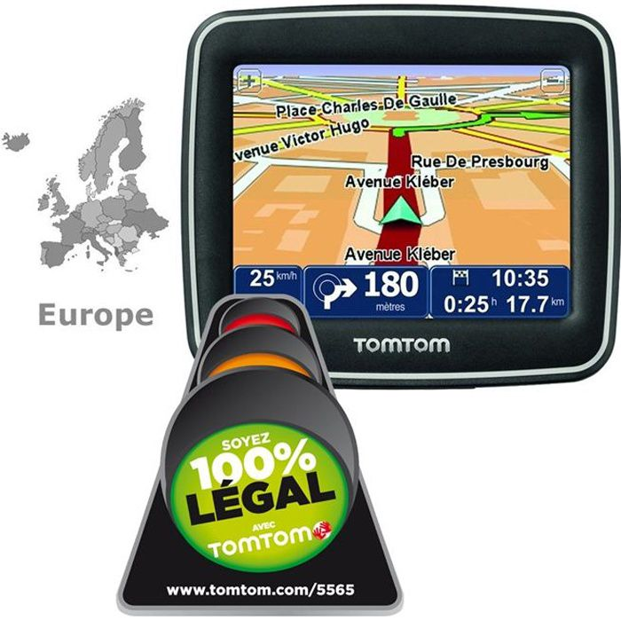 tomtom start 2 europe achat vente gps auto tomtom. Black Bedroom Furniture Sets. Home Design Ideas