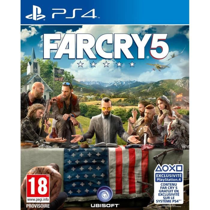Far Cry 5 Jeu PS4