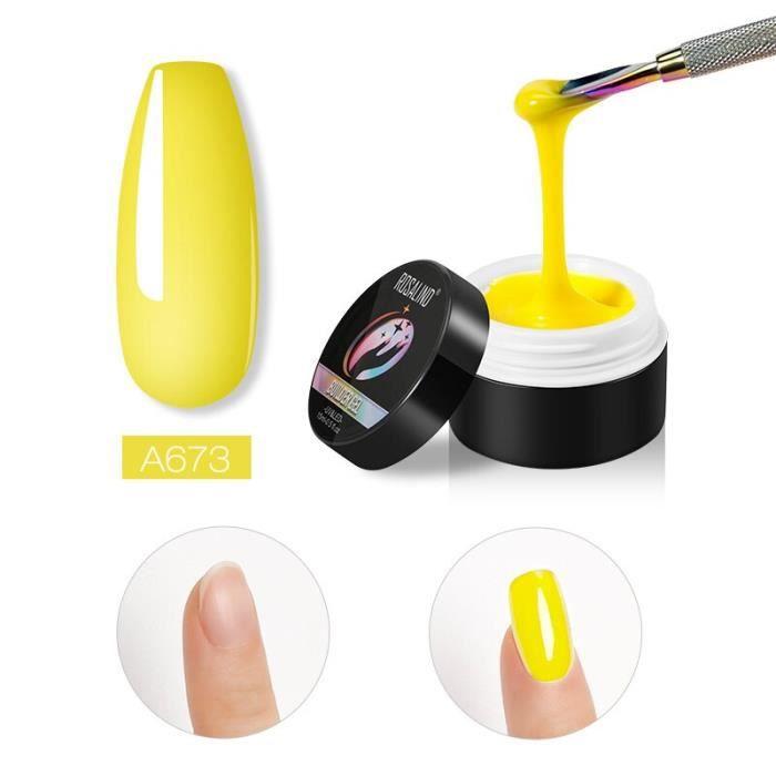 ROSALIND-vernis à ongles, Gel de construction, transparent, hybride, 15ml, pour Nail Art, à trempage, Semi-Permanent, [7277B6F]