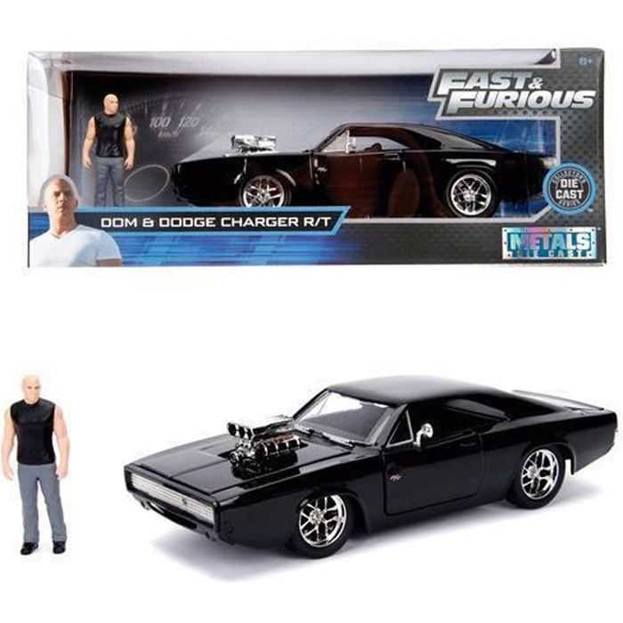 FAST & FURIOUS - 1970 DODGE CHARGER & DOM - 1:24