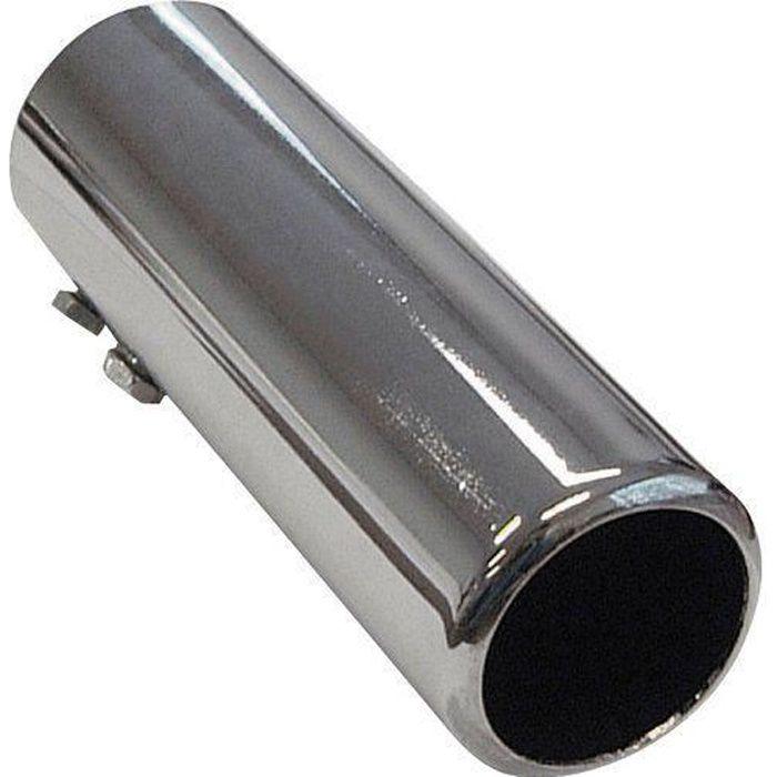 Autostyle Embout d`Echappement, 50 mm, 150 mm, 44-47 mm, Acier/Chromé - AS 742
