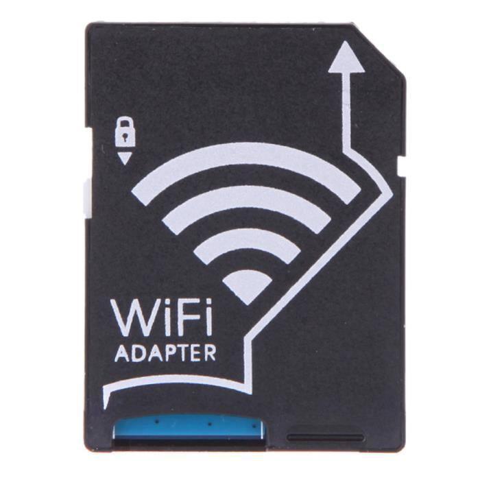 Wi-Fi Carte Micro SD TF sans fil pour carte SD Adaptateur