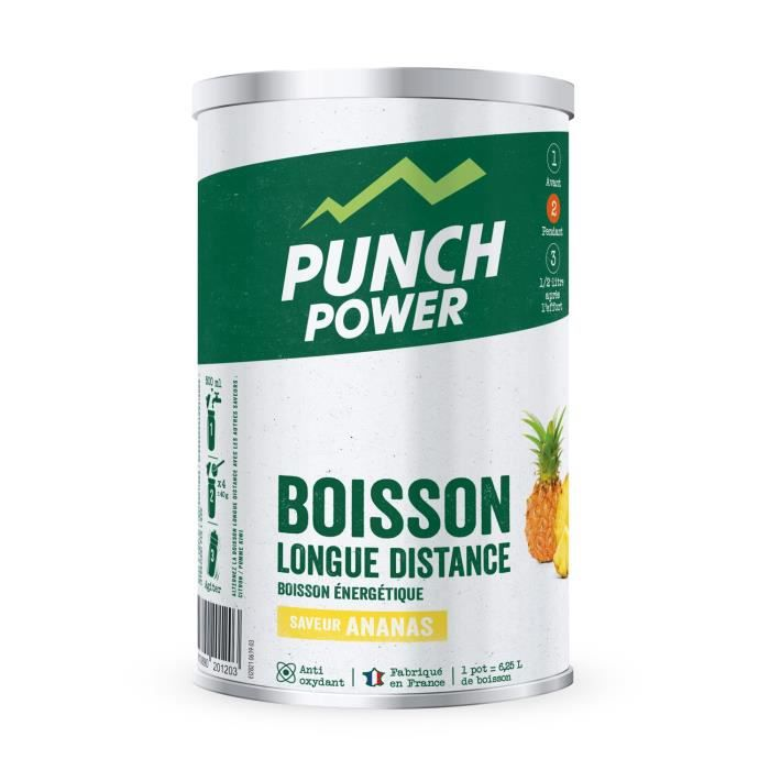 PUNCH POWER Boisson Longue distance Ananas - Pot 500 g