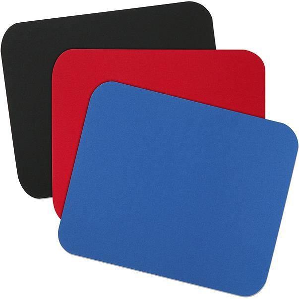 SPEEDLINK BASIC, Noir, Bleu, Rouge, Uniforme, mousse, 230 mm, 190 mm, 3 mm
