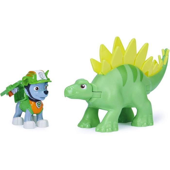 Paw Patrol Dino Rescue Rocky et Dinosaure