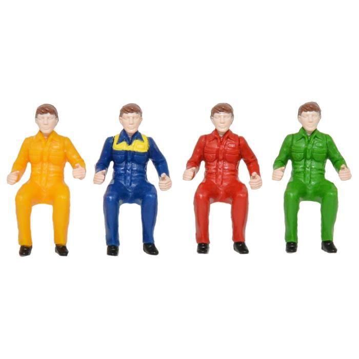 TOMY Assortiment de 4 figurines de conducteurs