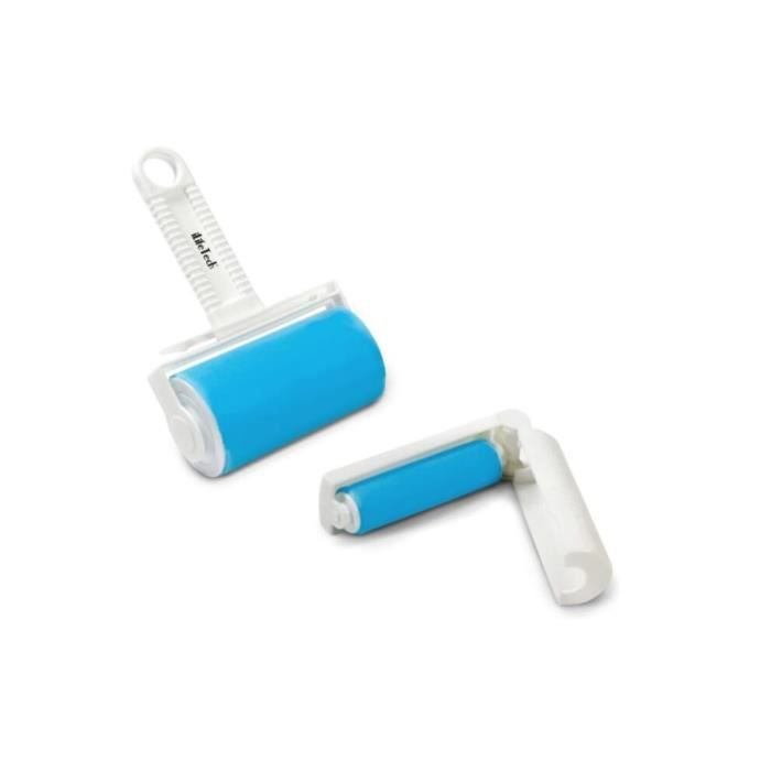 Rouleau Adhesif Vetement Réutilisable Brosse de Nettoyage pour Meuble Retirer Chien Chat Cheveux