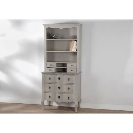 meuble 2 corps buffet bois c rus taupe gris grand si cle amadeus achat vente buffet. Black Bedroom Furniture Sets. Home Design Ideas