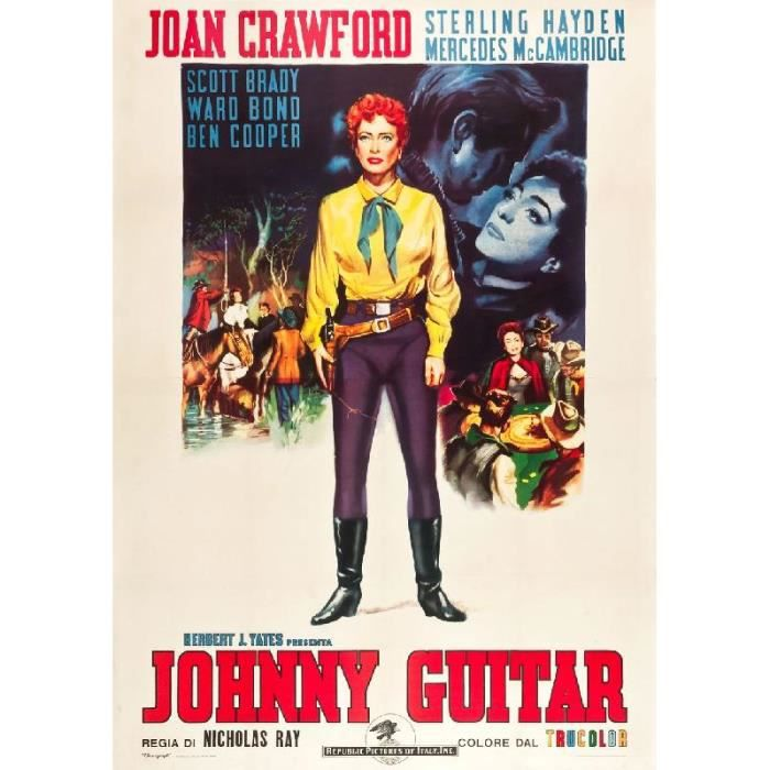 affiche du film johnny guitar 57 x 80 cm achat vente. Black Bedroom Furniture Sets. Home Design Ideas